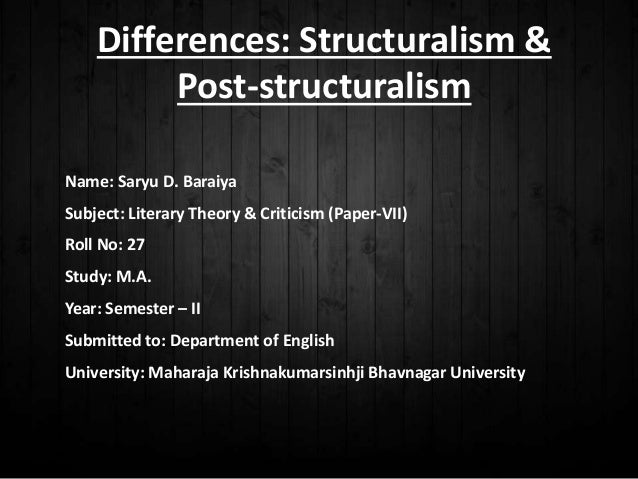 structuralism in literature an introduction pdf