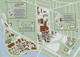 university of rochester campus map pdf