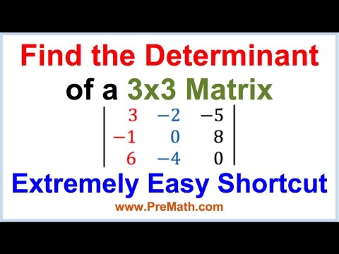 finding the determinant of a 3x3 matrix pdf