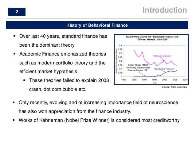 behavioural finance research papers pdf