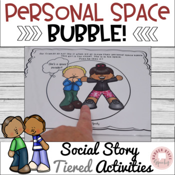 personal space social story pdf